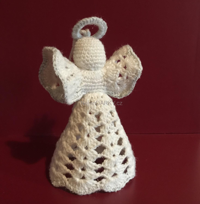 Vánoční anděl – nejen dárek, ale i dekorace